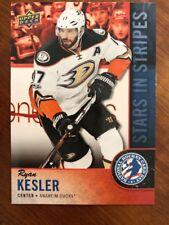 2018 UD National Hockey Card Day America Stars In Stripes #USA-7 Ryan Kesler