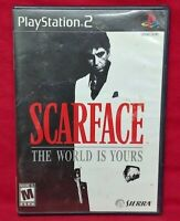 Scarface: The World is Yours - PS2 Playstation 2 Game Tested Working Complete