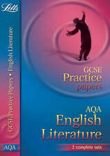 Letts GCSE Practice Test Papers - AQA English Literature - Higher Tier: (2012 Re
