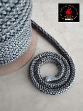 Black Heat Resistant Stove/Fire Rope For Woodburner/Log Burner Doors & Flue 3 m.