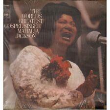 Mahalia Jackson Lp Vinile The World's Greatest Gospel Singer Nuovo