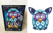 Furby Boom BLUE DIAMONDS Interactive Electronic Plush Doll Teal Hasbro 2013