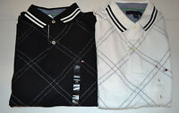Tommy Hilfiger Mens Polos  Sizes   M or L    NWT White or Black