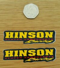 HINSON RACING STICKERS GRAPHICS DECALS CRF YZF KXF RMZ CR YZ KX RM KTM MX ENDURO
