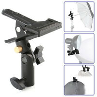 """Swivel Head Light Stand Reflector Background Heavy Duty Holder Clip Clamp 5/8"""""""