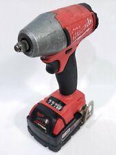 Milwaukee M18 Fuel Impact Wrench & 5AH Batt (Lithium, Brushless, 2754-20) I13734