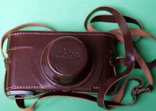 "LEITZ / LEICA II/III brown leather case, 3/8"" thread fitting, MINT"