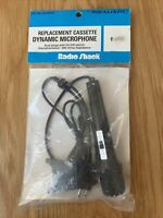 Vintage Radio Shack Realistic Audio Plug In Dynamic Microphone Cassette Recorder