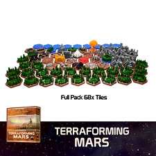 Terraforming Mars Upgrade Kit Tiles 100% UNIQUE Board Game