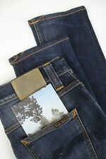 RRP €199 NUDIE Jeans LEAN DEAN PEEL BLUE Men's W30/L32 Stretch Jeans 2153 mm
