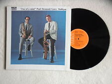 "LP PAUL DESMOND / GERRY MULLIGAN ""Two of a mind"" RCA FXL1 7311 FRANCE §"