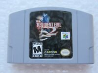 Resident Evil 2 Nintendo 64 N64 OEM Authentic Video Game Cart Rare Mature GREAT