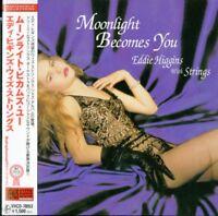 EDDIE HIGGINS WITH STRINGS-MOONLIGHT BECOMES YOU-JAPAN MINI LP CD C75