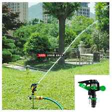 360° Auto Rotating Plastic Sprinkler Garden Lawn Spray Watering Irrigation Tool