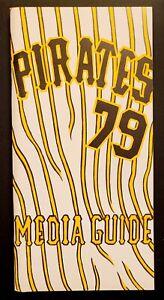 1979 MLB BASEBALL MEDIA GUIDE PITTSBURGH PIRATES