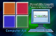 Libre Office 5.3.0 Suite - Office Productivity Suite  - Win & Mac - CD - OLD