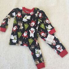 Carters Christmas Pajama Set 12 Months Two Pieces