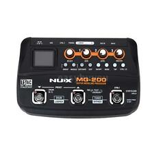 NUX MG-200 Guitar Modeling Processor Guitar Multi-effects Processor Models B0N4