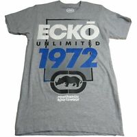 Ecko Unltd. Unlimited  Men's Framed Logo Printed Graphic Tee T-Shirt