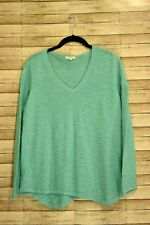Eileen Fisher Womens Sweater Long Sleeve Teal Size Medium