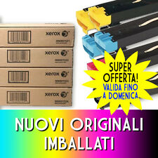 TONER ORIGINALI KIT LOTTO 8 PEZZI XEROX DC 240 242 250 252 260 WC 7655