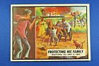 """1962 Topps Civil War News - #41 """"Protecting His Family"""" - VG/Ex Condition"""