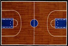 "Basketball Court rug 19"" X 29"" by  LA RUG Fun Time Collection NEW (GI-101929)"