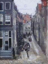 Pintura Paisaje Urbano Amsterdam Liebermann judío Street Art Print cartel HP1610
