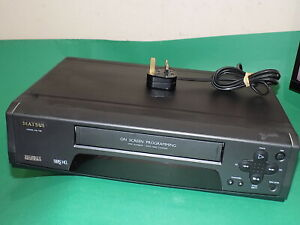 MATSUI VX1106 Video Cassette Recorder VHS VCR Tape Player Grey Black TESTED