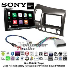Sony XAV-AX5000 MultiMedia Radio Kit Bluetooth Android Auto Apple Carplay No CD