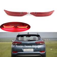 Fit For Hyundai Tucson 2015-2018 LED Rear Bumper Light Tail Brake Reflector Lamp