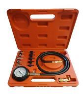 Tool Hub 6722 Oil Pressure Meter Tester Kit Test Gauge Diesel Petrol Garage Tool