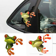 18.5*19cm 3D Peep Frog Decorative Decal Vinyl Graphics Sticker For Off Road SUV