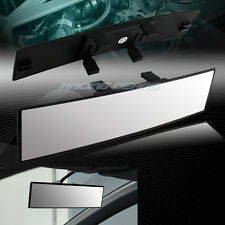300MM Wide Convex Curve Interior Clip On Panoramic Rear View Mirror Universal 4