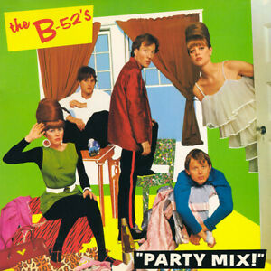 THE B-52's - 'PARTY MIX' - 1990 - EXCELLENT CONDITION - CD ALBUM - FREE UK POST