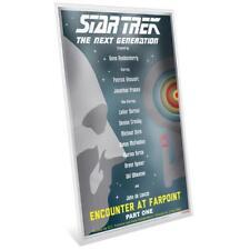 Niue - 1 Dollar Silber Münznote 2018 - Star Trek™ - Encounter at Farpoint Pt. 1