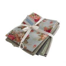 Linen Fat Quarter Quilting Craft Fabrics