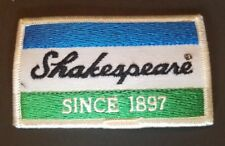 """Shakespeare*Since 1897* Fishing Vintage Embroidered Iron On Patch 3.5"""" x 2"""""""