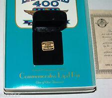 Indianapolis Motor Speedway LE /1000 24k Gold P 1995 Brickyard 400 Lapel Hat Pin