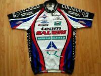 Team Salieri Colnago Full Zip SS Cycling Jersey Ellegi Size:4~M/L Very RARE!NEW!