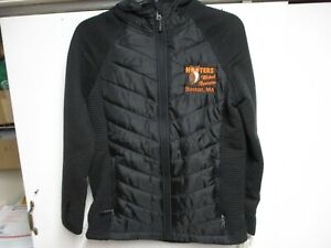 HOOTERS AVALANCHE (OUTDOOR) WOMENS FULL ZIP JACKET (SMALL) NWT $88 BLACK