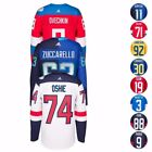"2016 NHL Adidas Premier ""World Cup Of Hockey"" Player Jersey Collection Men's"