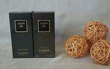 """LANVIN FOR MEN  eau de toilette 50ml+ After shave lotion 50ml  """"PRE-BARCODE"""""""