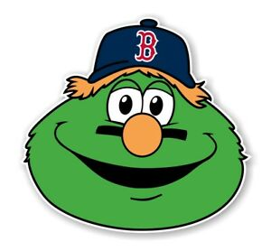 Boston Red Sox Wally the Green Monster  Precision Cut  Decal / Sticker