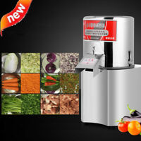 220V Commercial Electric Vegetable Meat Chopper Grinder Food Processor Machine