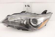 OEM HEADLIGHT HEAD LIGHT LAMP HEADLAMP TOYOTA CAMRY SE 15 16 17 LH crack mount