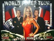 WORLD POKER TOUR Complete LED Lighting Kit custom SUPER BRIGHT PINBALL LED KIT