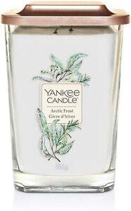 Yankee Candle Elevation Jar Large Arctic Frost 552g Square Jar