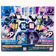 Kamen Rider ex-Ayuda para-do 9 amapola Toki Meki crisis Gamer Con Juguete Figura De Acción