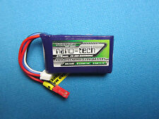 TURNIGY NANO-TECH 370mAh 3S 25C LIPO BATTERY JST EDF MINI MICRO QUAD FOAMIES RC